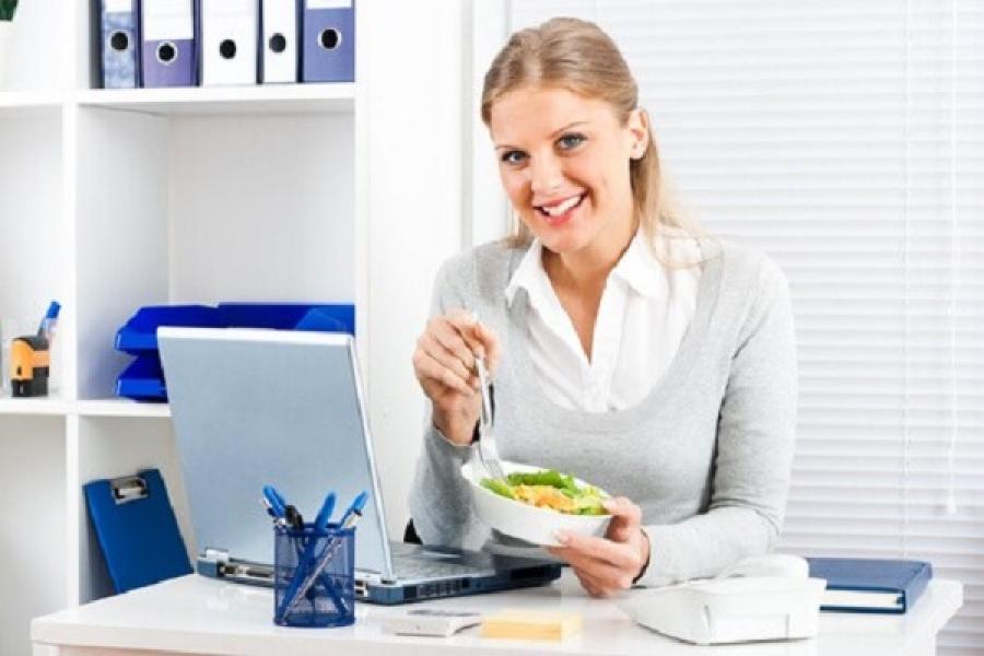 Олеся Пухова, Питание и диета для офисных работников